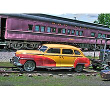 Riding the Rails Photographic Print