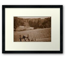 Calm Before Storm Framed Print