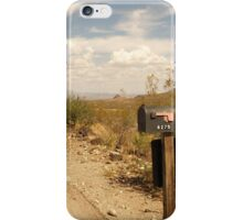 Arizona Country Road iPhone Case/Skin