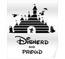 Disnerd and Proud Poster