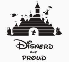 Disnerd and Proud Kids Clothes
