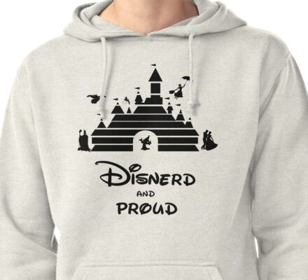 Disnerd and Proud Pullover Hoodie