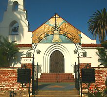 Mary, Star of the Sea Church in La Jolla  by heatherfriedman