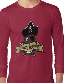 Pirate penguin Long Sleeve T-Shirt