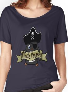 Pirate penguin Women's Relaxed Fit T-Shirt