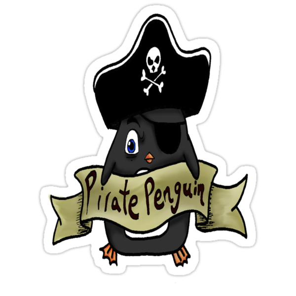 Pirate penguin by kimmykat