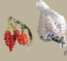 Chillies n garlic by Untamedart
