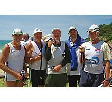 Anglesea Medallists at Masters Photographic Print