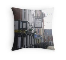 Denbigh High Street Throw Pillow