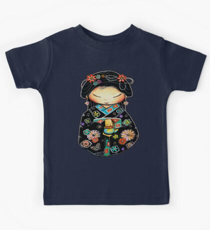 Little Multicolour Teapot Kids Tee