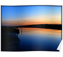Cuckmere Haven at Dusk Poster