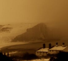 Snow Laden Seven Sisters by vistavie79