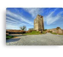 Dysert Castle Canvas Print
