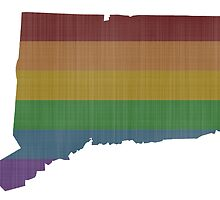 Connecticut Rainbow Gay Pride by surgedesigns