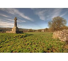 Dysert O Dea Celtic Cross Photographic Print