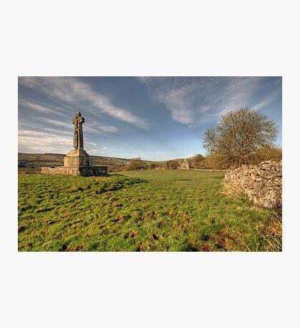 Dysert O Dea Celtic Cross Photographic Print