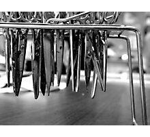 Scissor Blades Photographic Print