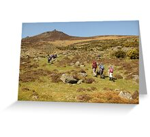 Comeragh mountains Greeting Card