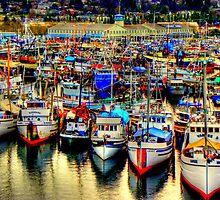Fishermans Terminal ~ HDR Series ~ Seattle, WA by lanebrain photography