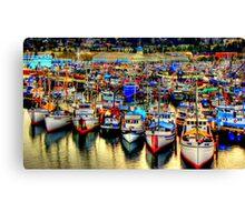 Fishermans Terminal ~ HDR Series ~ Seattle, WA Canvas Print