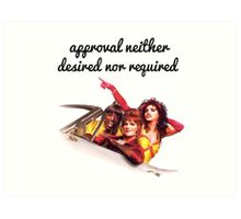 Approval not required Art Print