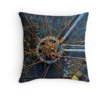 End of a cycle Throw Pillow