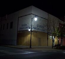 Gadsden Jewelry & Loan Co. ~ Nightime View by ArtistJD