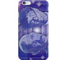 The further adventures of Mahatma Gandhi and the Nutty Professor iPhone Case/Skin