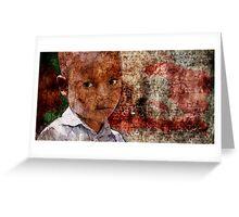 Pour les enfants d'Haïti Greeting Card