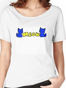 Kitty Meow Women's Relaxed Fit T-Shirt