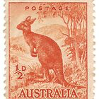 Old Australian stamp by Lee Lee