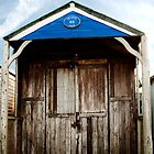 Beach hut by Andrew Walker