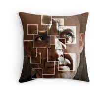fear lies within the frame Throw Pillow