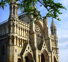St Albans Abbey ~ Hertfordshire 2007 by Samantha Creary