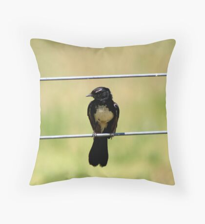 Willy Watch Throw Pillow
