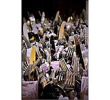 Silver & Lavender Photographic Print
