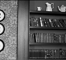 Victorian Bookcase by Lauren Neely