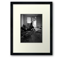 Destroyed Framed Print