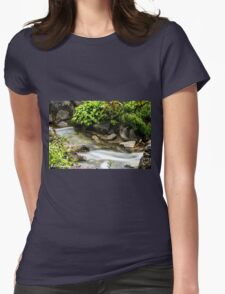 Waterfall 4 Womens Fitted T-Shirt