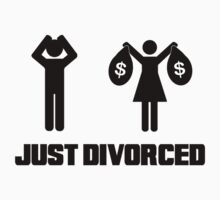 Funny Divorce Shirt - Just Divorced Wife Taking Money by movieshirtguy
