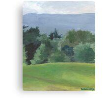 Vermont Hills Canvas Print