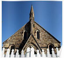 St Pauls Presbyterian Church, Hill End Poster