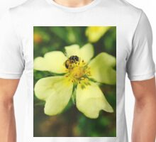 Bee's Yellow Delight Unisex T-Shirt