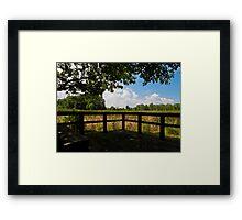 Sheldon Marsh Scenic Overlook Framed Print