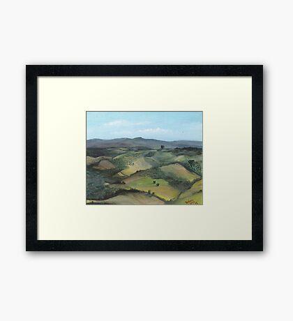Montecastello view #1 Framed Print