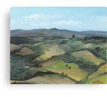 Montecastello view #1 Canvas Print
