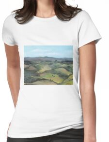 Montecastello view #1 Womens Fitted T-Shirt