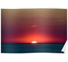 Sunset flash Poster