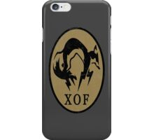 MGS - XOF Logo iPhone Case/Skin