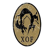 MGS - XOF Logo Photographic Print